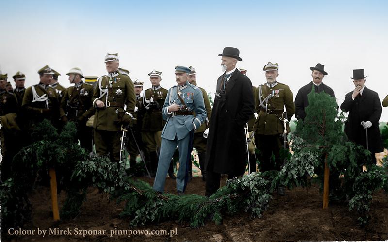 Stanisław_Szeptycki_-_Józef_Piłsudski_i_Stanisław_Wojciechowskik