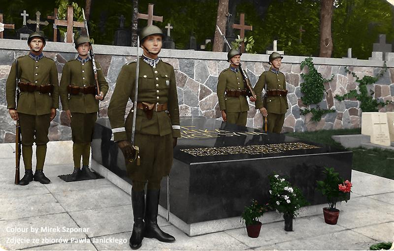 grób_piłsudskiego_wilno_podchorazy_piechoty.km